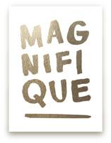 Magnifique Foil Foil-Pressed Wall Art