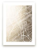 Birmingham Map by Laura Condouris