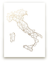 Italy Map by GeekInk Design