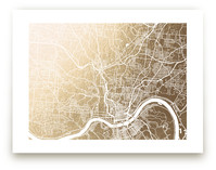 Cincinnati Map by Laura Condouris
