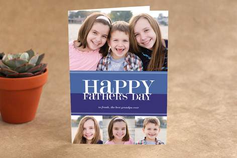 Bold Reflection Father's Day Greeting Cards