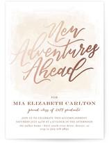 New Adventures Invite by Grace Kreinbrink