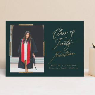 Great Achievement Foil-Pressed Graduation Announcements