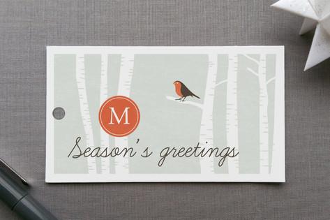 Hazy Shade of Winter Gift Tags