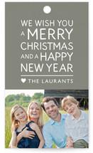 Family Framed Gift Tags
