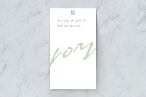 Light-Hearted Joy Gift Tags