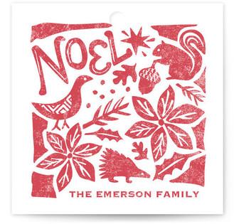 Pastoral Noel Gift Tags
