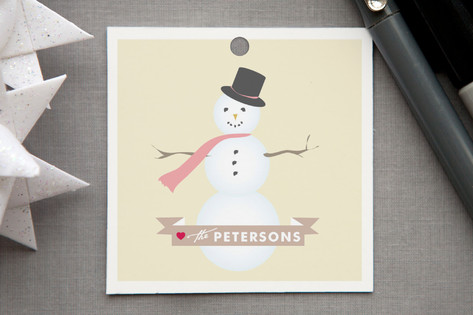 Sweet Snowman Gift Tags