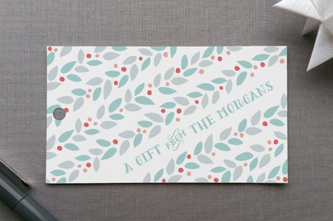 Modern Garland Gift Tags