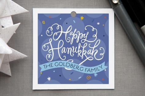 Joyful Hanukkah Gift Tags