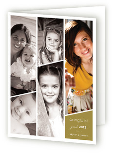 Standing Tall Graduation Greeting Cards