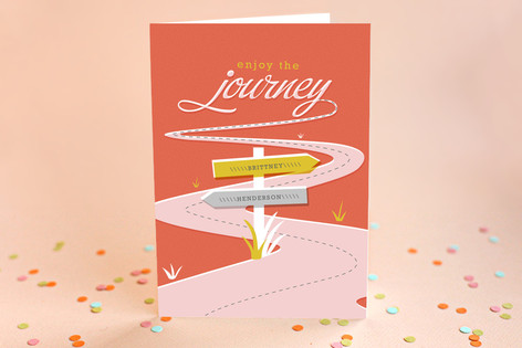 Enjoy the Journey Graduation Greeting Cards