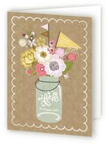Kraft Jar Bouquet