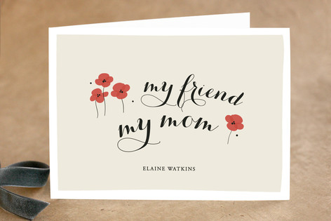 My Mom Mother's Day Greeting Cards