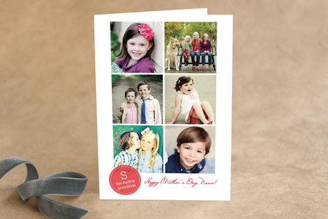 Initial and Note Mother's Day Greeting Cards
