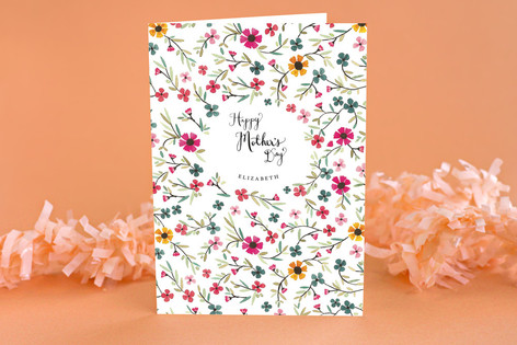 Sweet Blossoms Mother's Day Greeting Cards