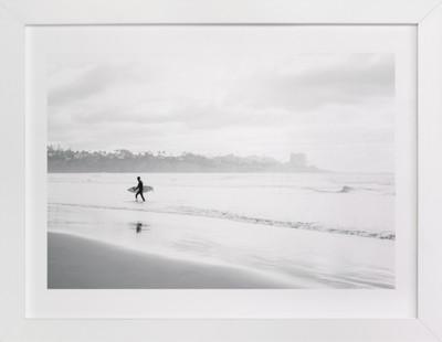 Monochrome Coasts Art Print