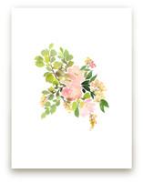 Flora in Peach II