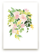 Flora in Peach I Art Prints