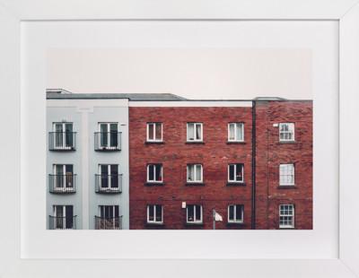 Windows of Dublin Art Print