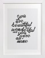 You Are Beautiful & Wonderful