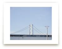 Blue Bridge by Alexandra Nazari