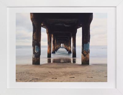 Shoot the Pier Art Print