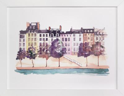 Parisian Life Art Print