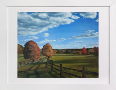 Farm from Maple Street Art Print