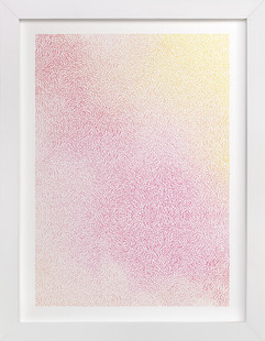 Staccato Sunset Art Print