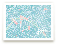 The Map of Paris