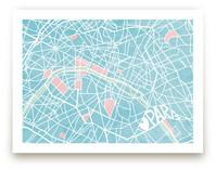 The Map of Paris