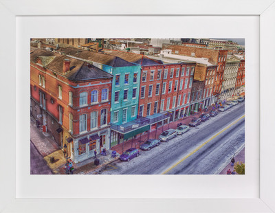 South Peters Street, New Orleans Art Print