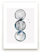 Trio of Spheres by Naomi Ernest