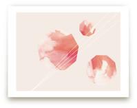 Watercolor Nonagons
