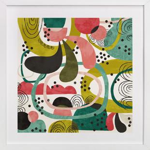 Fete Art Print