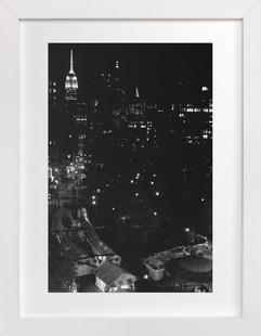 A Manhattan Night Art Print