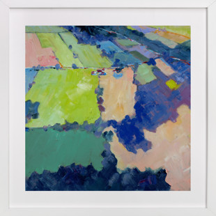 Above the Farm 1 Art Print