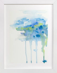 Rain Cloud Art Print