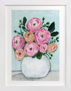 Rosy Posy Art Print