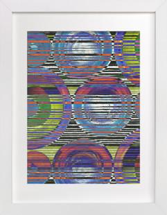 Optical Journey Art Print