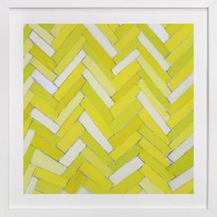 yellow bricks of Pittsburgh Art Print