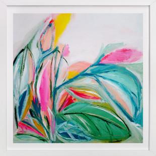 Waimea garden Art Print