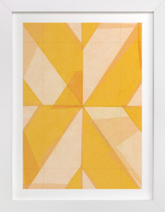 Abstract Layers 1 Art Print