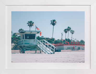 Zuma Beach Malibu No. 3 Art Print