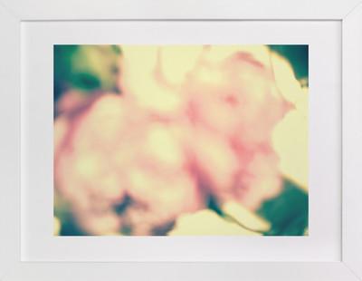 Abstract Peony Art Print