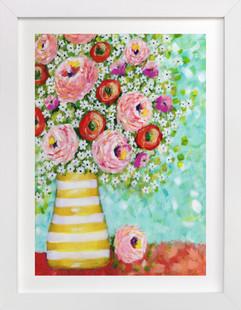 Daisy Surprise Art Print