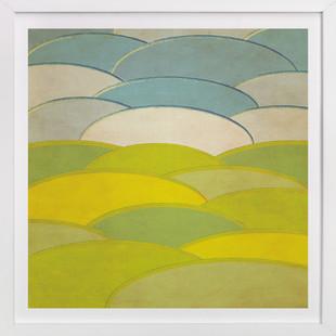 Horizon Series Oval Art Print