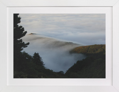 Deer Point Fog Art Print