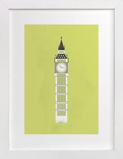 Big Ben Flare Art Print